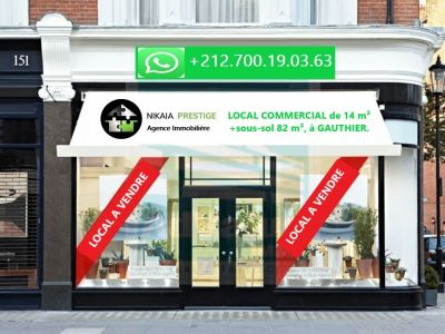 Vente Local commercial Casablanca Gauthier au Maroc